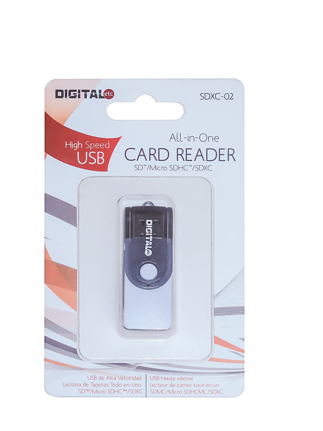 Amazon.com: DigitalEtc 9 in One Card Reader Black: Computers ...