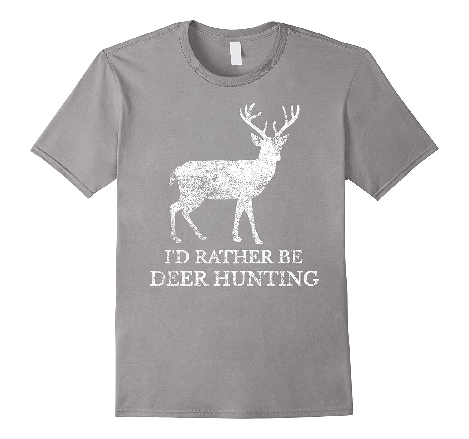 Deer Hunting T-Shirt | I'd Rather Be Deer Hunting-BN