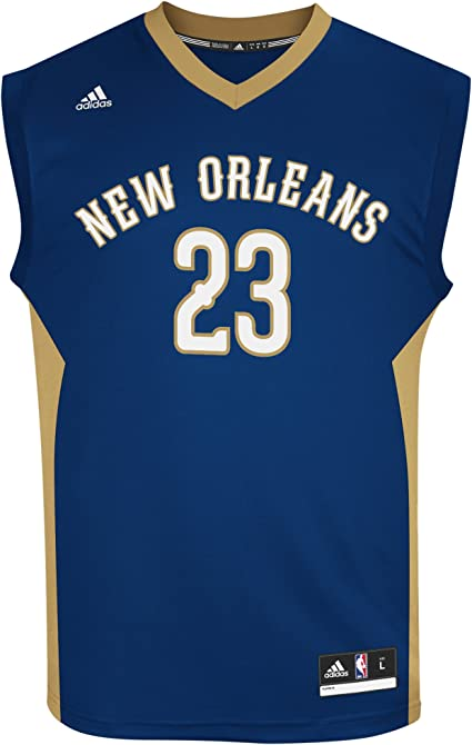 adidas Anthony Davis New Orleans Pelicans NBA Men's Replica