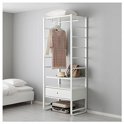 IKEA ELVARLI - 1 sección blanca: Amazon.es: Hogar