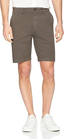 "Goodthreads Men's 9"" Inseam Flat-Front Stretch Chino"