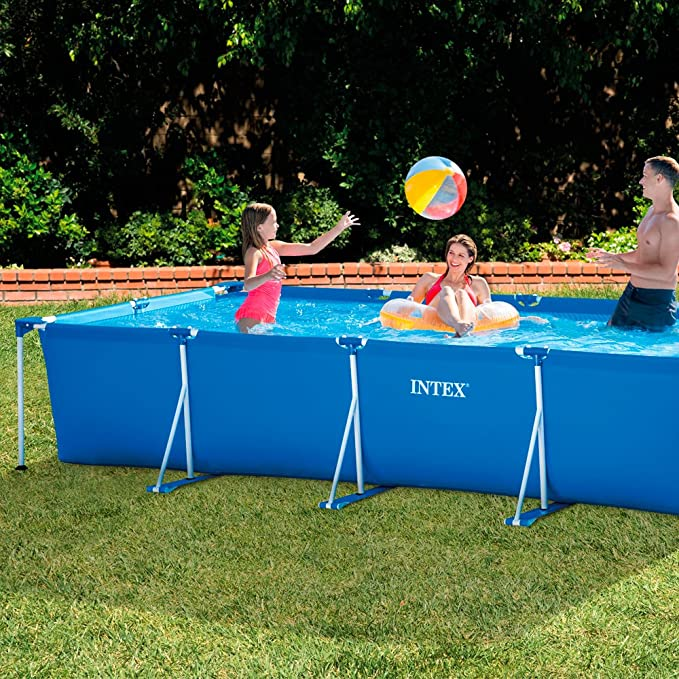 Intex 28273NP - Piscina desmontable tubular 450 x 220 x 84 cm, 7.127 litros: Amazon.es: Jardín