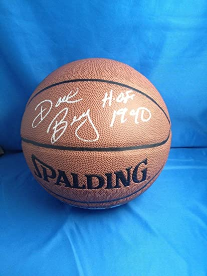 Dave Bing Signed Basketball - COA - Autographed Basketballs at ... ecb099415