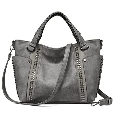 aa70cef2e988 Amazon.com  Realer Handbags for Women Large Tote Purses Designer Shoulder  Bag  Shoes