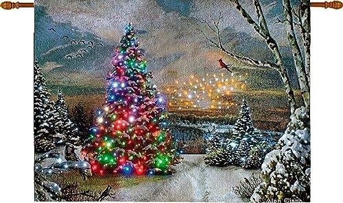 Christmas Morning II Lighted Wall Hanging