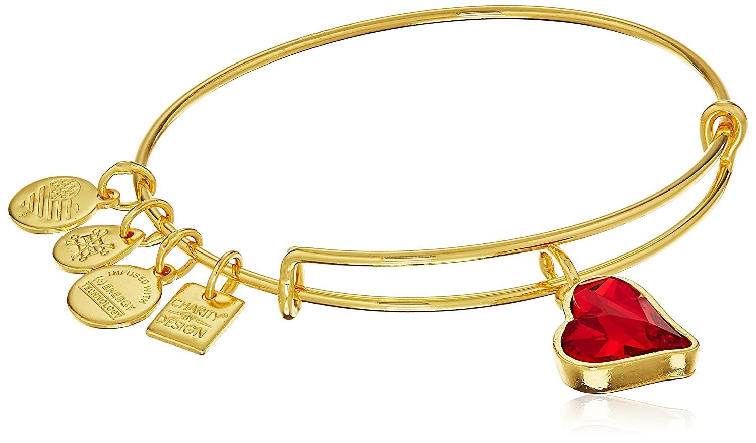Amazon.com: Alex and Ani Charity By Design (PRODUCT) RED Heart of ...