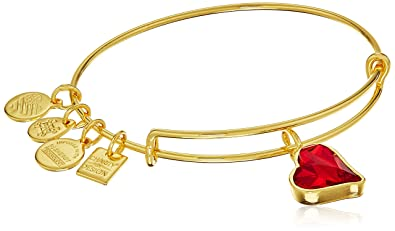 bd519c2c8 Alex and Ani Charity By Design (PRODUCT)RED Heart of Strength Charm Bangle  Shiny