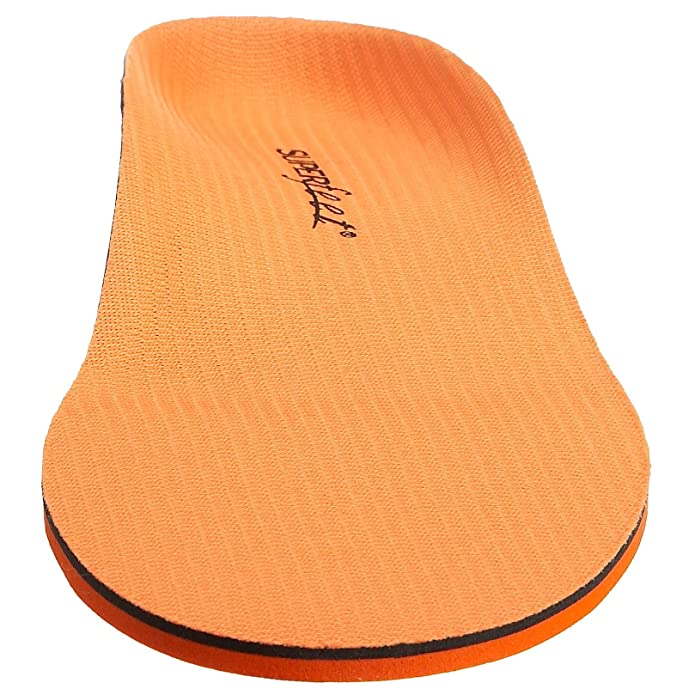 Zapatos naranjas Superfeet para hombre 4TSEDW