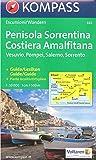 Péninsule de Sorrente - Côte amalfitaine randonnée map & guide 1:50.000 KOMPASS N ° 682