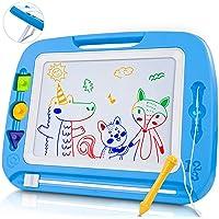 lenbest Pizarra Magnética para Niños, Doodle Magnético Infantil, Almohadilla Magnética Borrable para Niños, Pizarra…