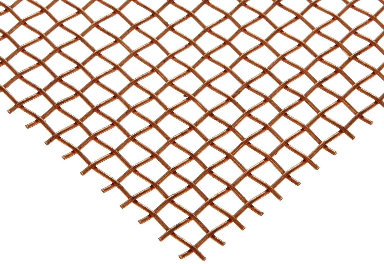 Amazon Com Copper Woven Mesh Sheet Unpolished Mill Finish Astm E2016 06 12 Width 24 Length 0 018 Wire Diameter 51 Open Area Industrial Scientific