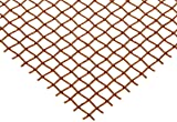 Copper Woven Mesh Sheet, Unpolished