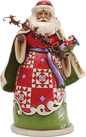 Pere Noel Jim Shore Amazon.com: Jim Shore for Enesco Heartwood Creek Santa Holding