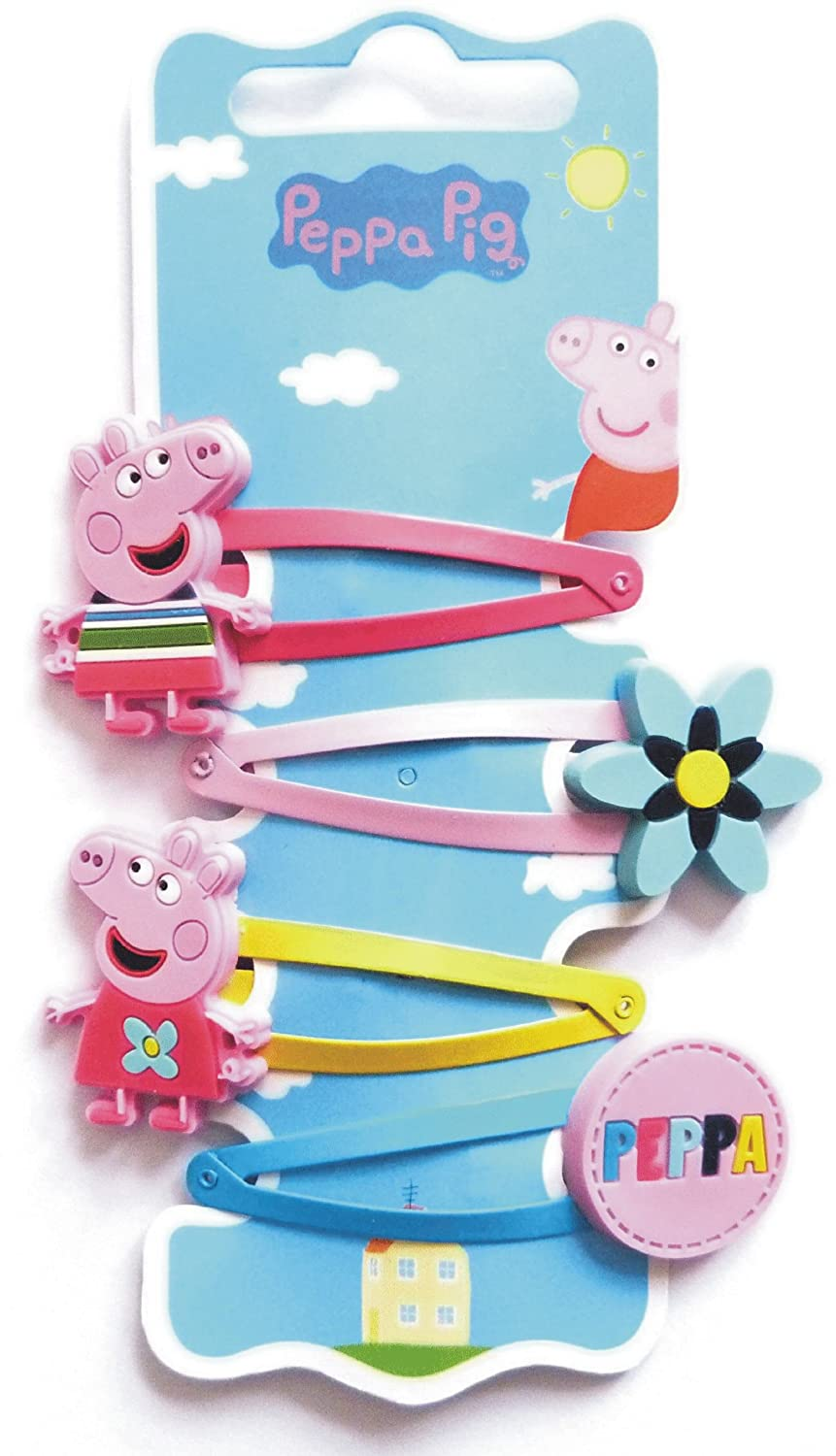 Peppa pig hair clips set of 4 Autumn/Winter collection (accesorio ...