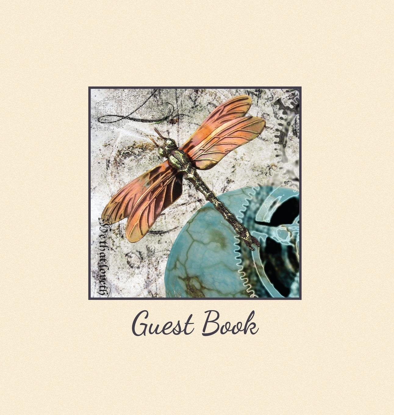 Hardback Guest Book, Visitors Book, Comments Book, Guest Comments Book, House Guest Book, Party Guest Book, Vacation Home Guest Book: For Events, ... Homes, Airbnbs, Workshops & Retreat Centres