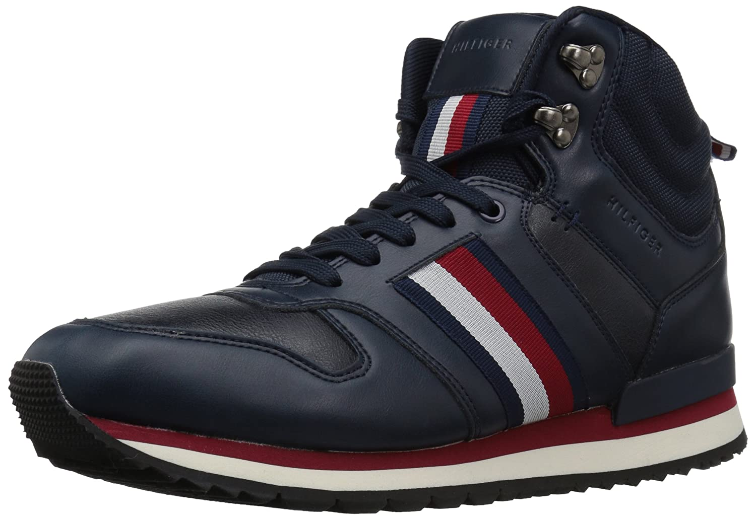 333acee47 TOMMY HILFIGER Mens TMNEWHART Newhart Blue Size  13 D(M) US  Amazon.com.au   Fashion