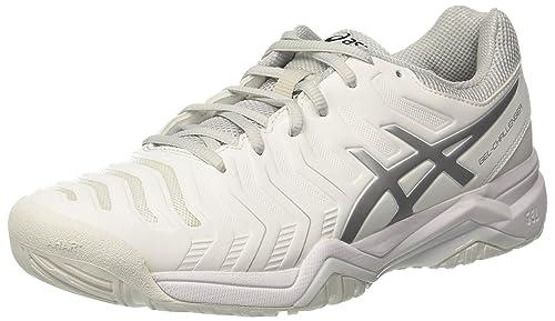 Asics Gel Challenger 11 Scarpe da Ginnastica Uomo Bianco White/Silver 48 EU