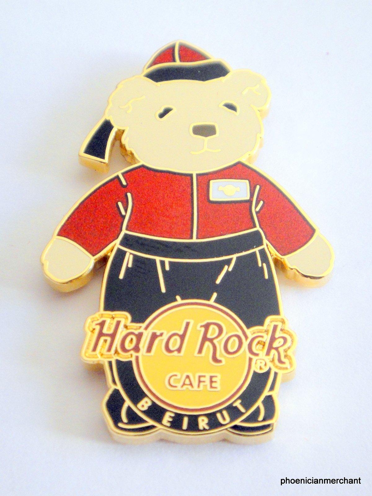 Hard Rock Cafe Beirut 2006 Teddy Bear Series