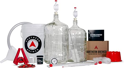 Amazon.com: Northern Brewer Deluxe Homebrew Kit de ...