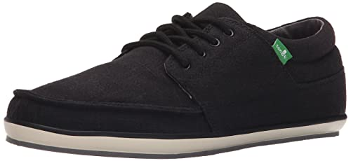 Sanuk Men's M TKO Fashion Sneaker, Black, ...