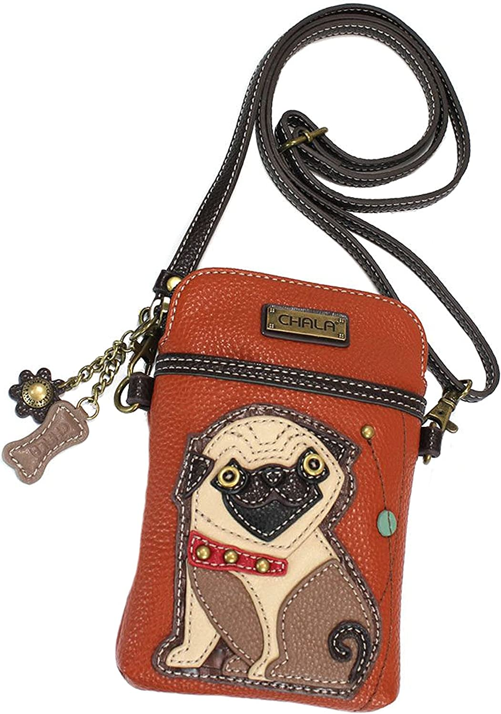 /'Pug Mom/' Design Small Tote Shoulder Bag.