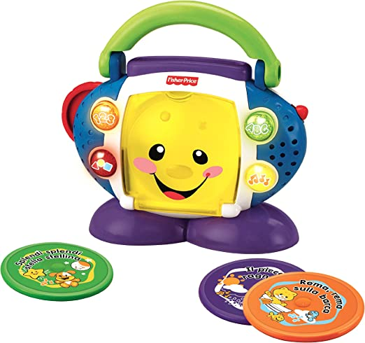 Fisher Price Laugh & Learn CD Player
