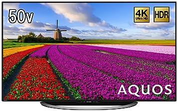 amazon co jp シャープ 50v型 液晶 テレビ aquos lc 50u45 4k hdr対応