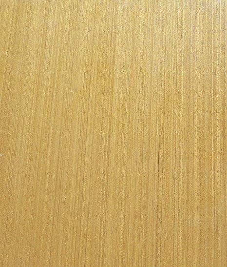 """Teak Golden composite wood veneer 24/"""" x 24/"""" with paper backer 1//40/"""" thick # 720"""