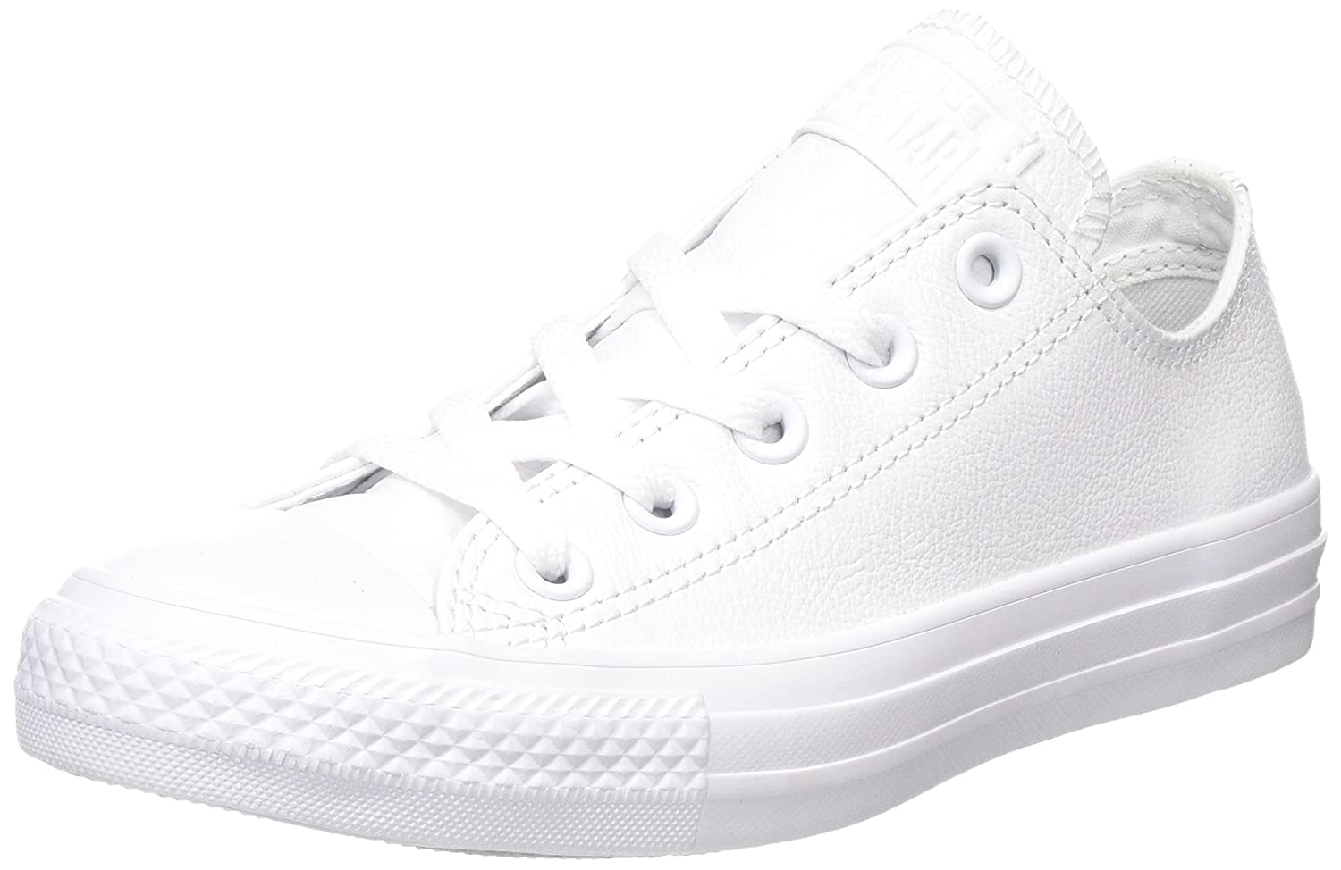 Converse Men's Chuck Taylor All Star Seasonal Ox B00SZGUEA2 3.5 US Men / 5.5 US Women|White Leather