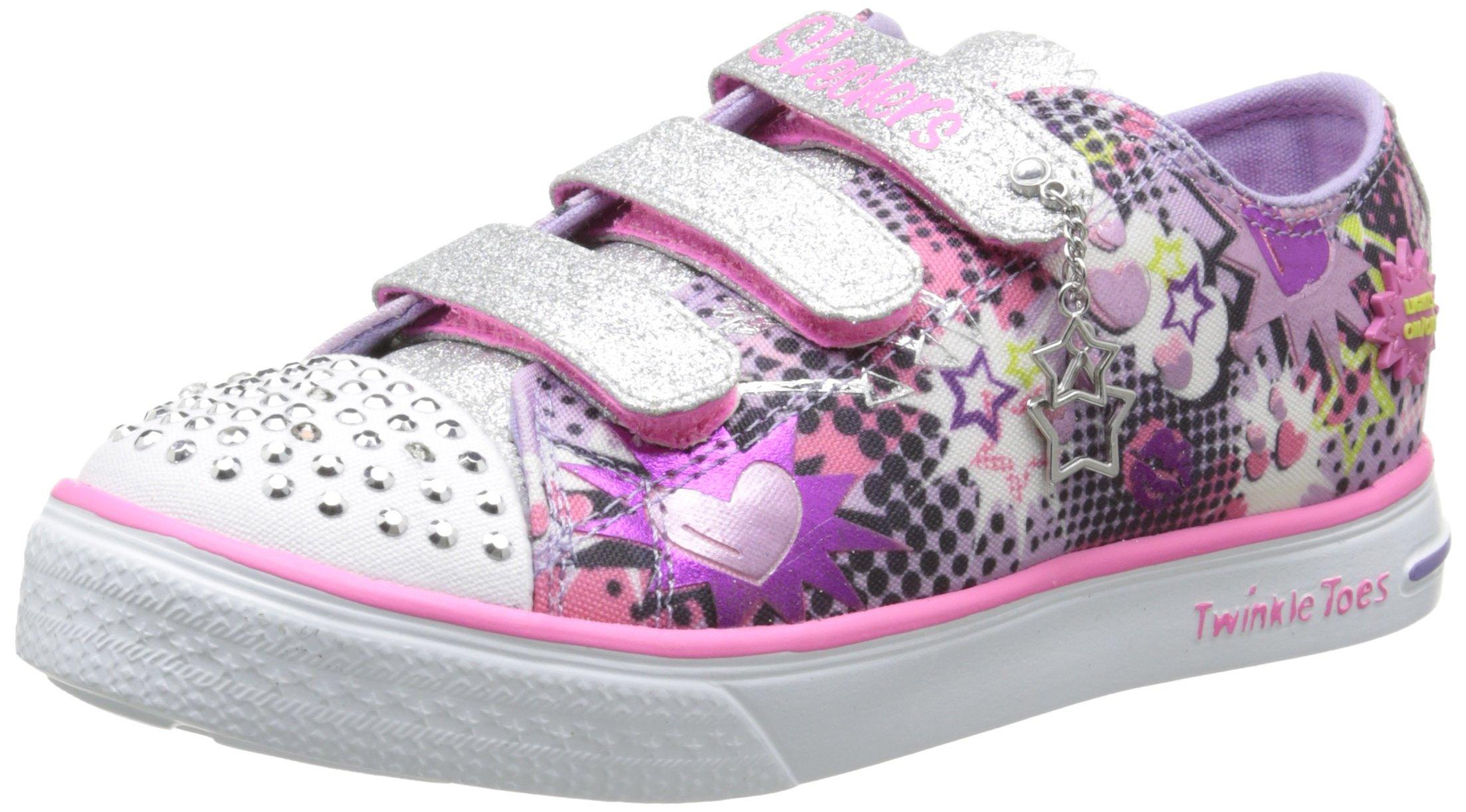 5 13 Skechers YearsTwinkle ToesChit Sneaker Chat Up Prolifics M Us Little Kid4 Lavendermulti 8 Light ALcqS35R4j