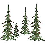 Besti Custom Pine Trees - 4 Tree Pine Grouping Metal Tree Sculpture - Metal Tree, Pine Tree, Outdoor Wall Decor Metal Art