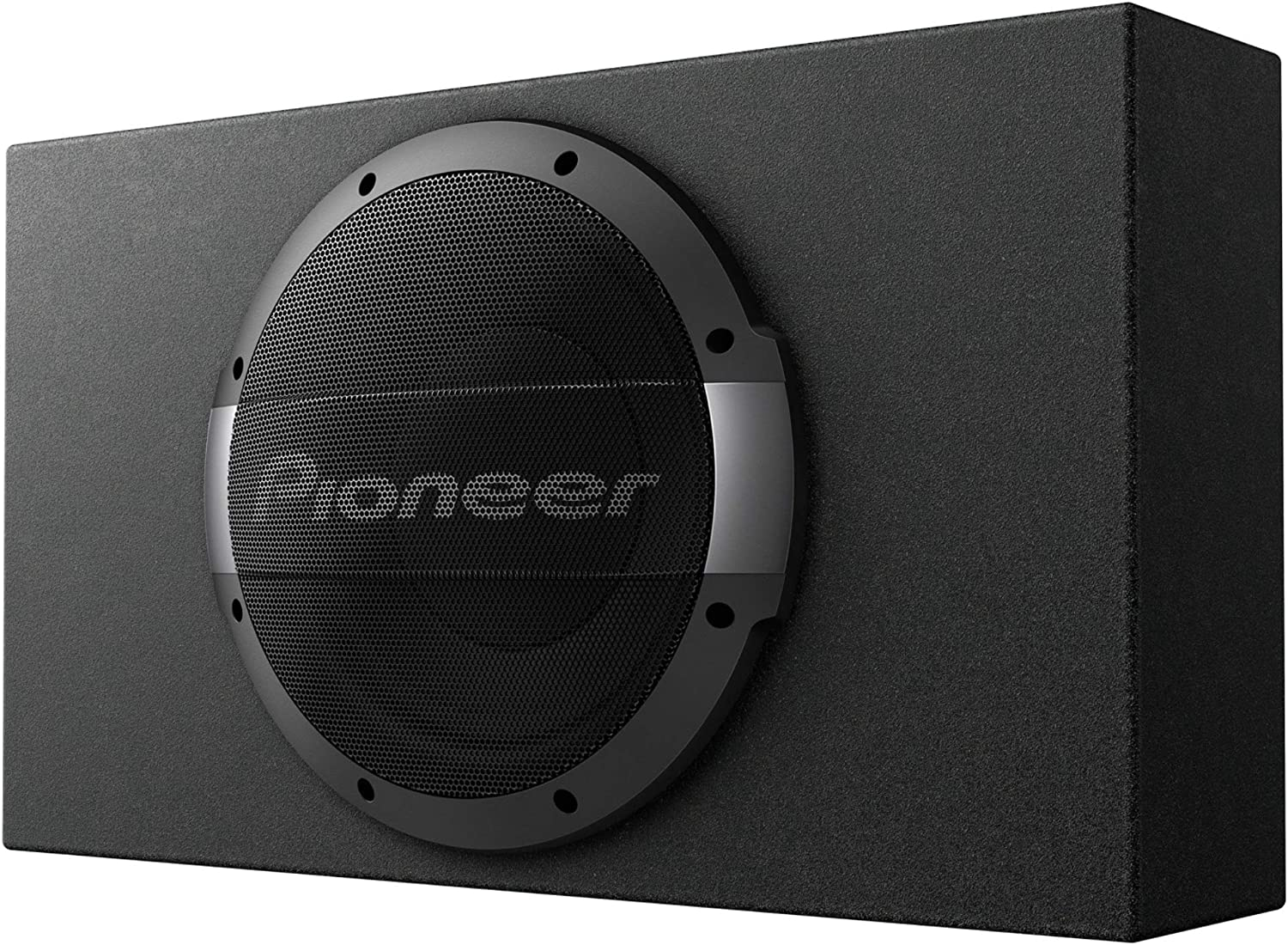 PIONEER TS-WX1010LA 10 Shallow Mount Sealed Enclosure with Built-in Amplifier