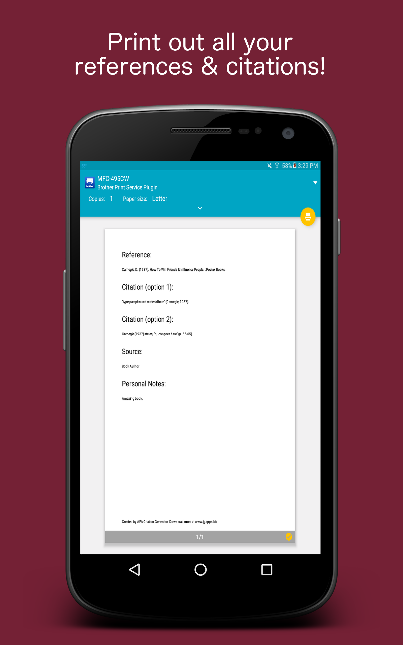 com apa citation generator appstore for android 0 00