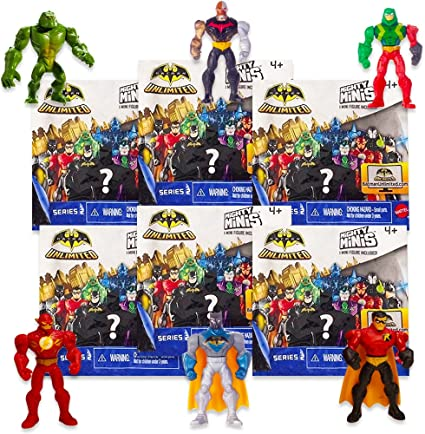 DC BATMAN UNLIMITED MIGHTY MINIS Series 2 COMPLETE SET Of 6 Figures