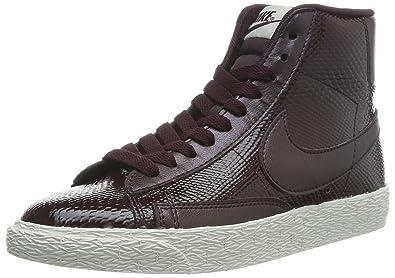 pretty nice 2fcb1 8b055 Nike Blazer Mid Leather Premium 685225-600 Damen High-Top Sneaker Violett  (Deep