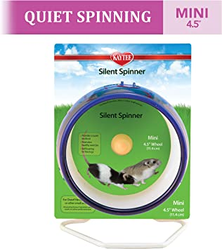 Kaytee Spinner Mini Wheel 4 5 Inch Colours Vary Amazon Co Uk Pet Supplies