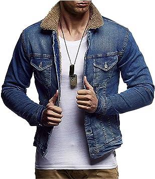 メンズデニムコートラペルベルベットフリースマキシフルスリーブ冬暖かいスリムフィットオーバーコートジャケット