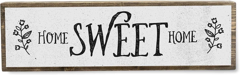 ANVEVO Home Sweet Home - Metal Wood Sign Light - Rustic Farmhouse Decor - Rustic Wall Art - Home Decor Modern Home Decor