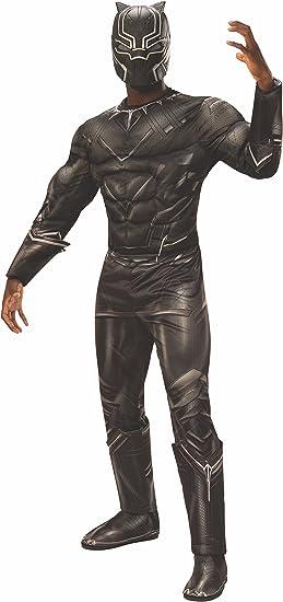 Rubies Disfraz oficial de Marvel de la Pantera Negra, color negro ...
