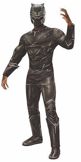 Disfraz de la pantera negra de Marvel Civil War, de la marca ...