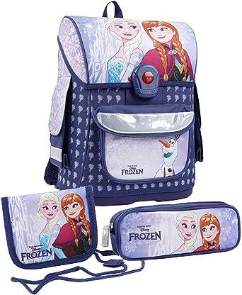 Disney El reino del hielo Chicas Conjunto mochila y estuche - púrpura -: Amazon.es: Ropa y accesorios
