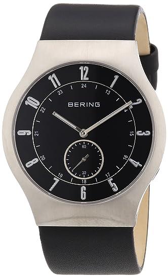 Bering Slim Radio Collection Reloj Elegante para Hombres Reloj Radio-controlado Muy Llano: Amazon.es: Relojes