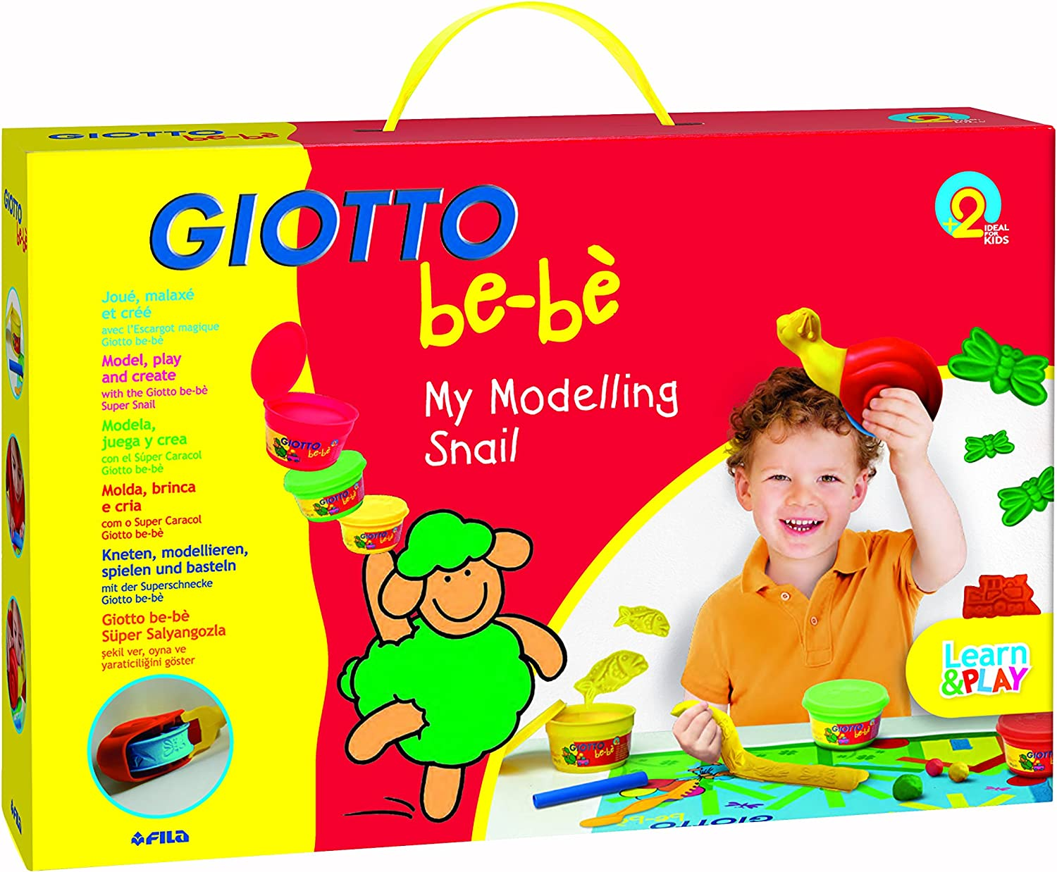 GIOTTO® BE-BE MY DOUGH MACHINE PLAYING PLAY CHILDREN/'S MODELLING SET KIT