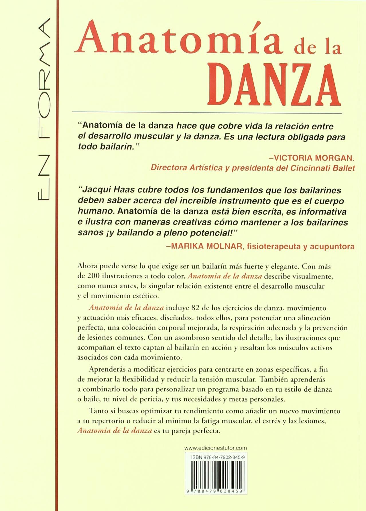 Anatomia de la danza / Dance Anatomy (En forma / In Shape) (Spanish ...