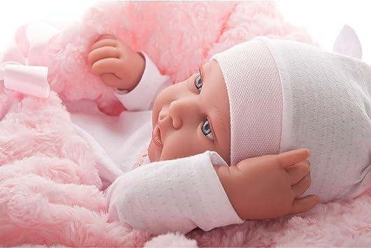Amazon.es: Recien nacida pipa 42 cm arrullo niña: Juguetes y juegos