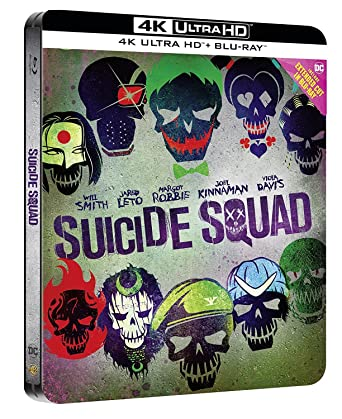 Suicide Squad 4K 2016 Limited Edition Bluray Extended