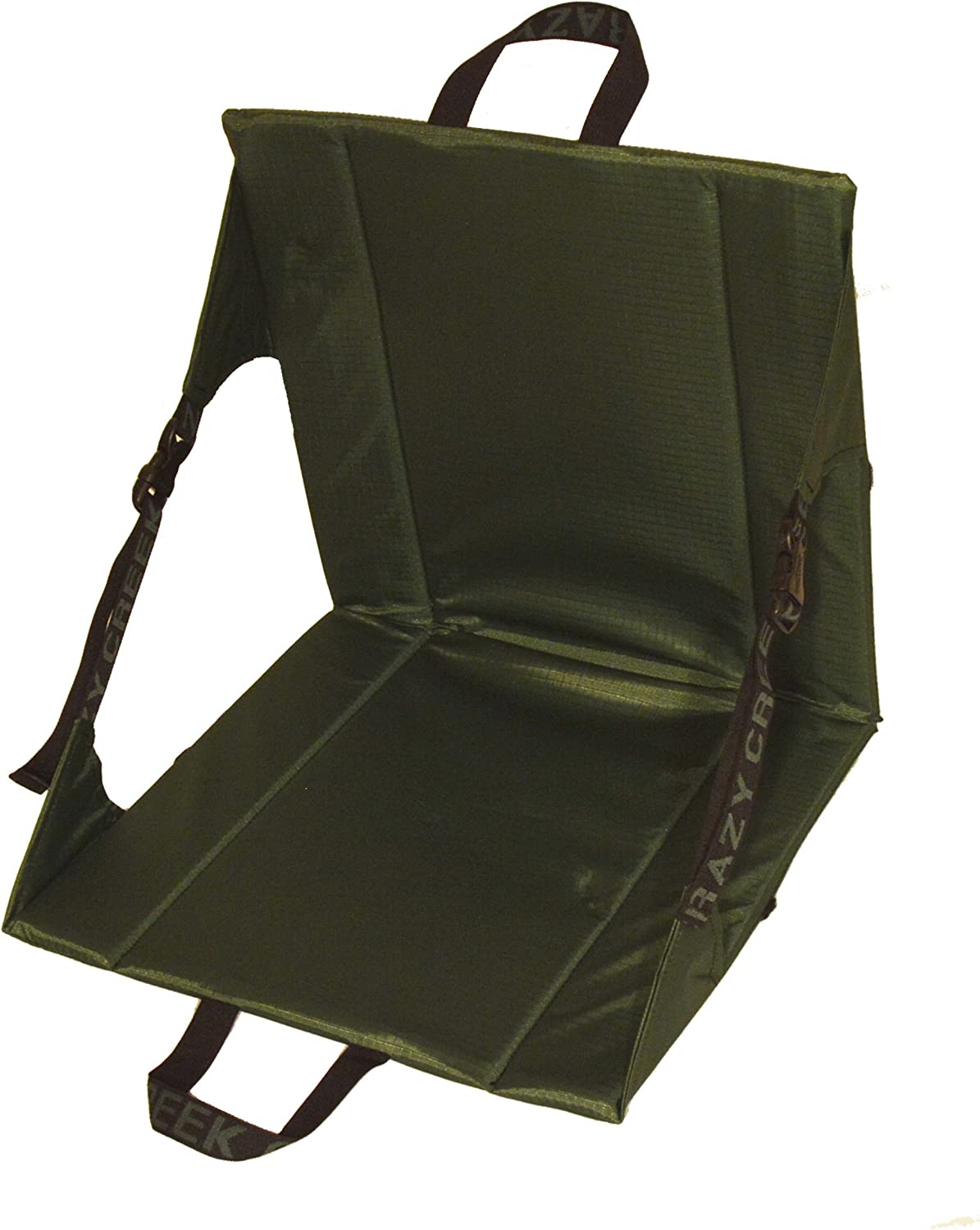 Crazy Creek Original Chair – The Original Lightweight Padded Folding Chair – Forest Green