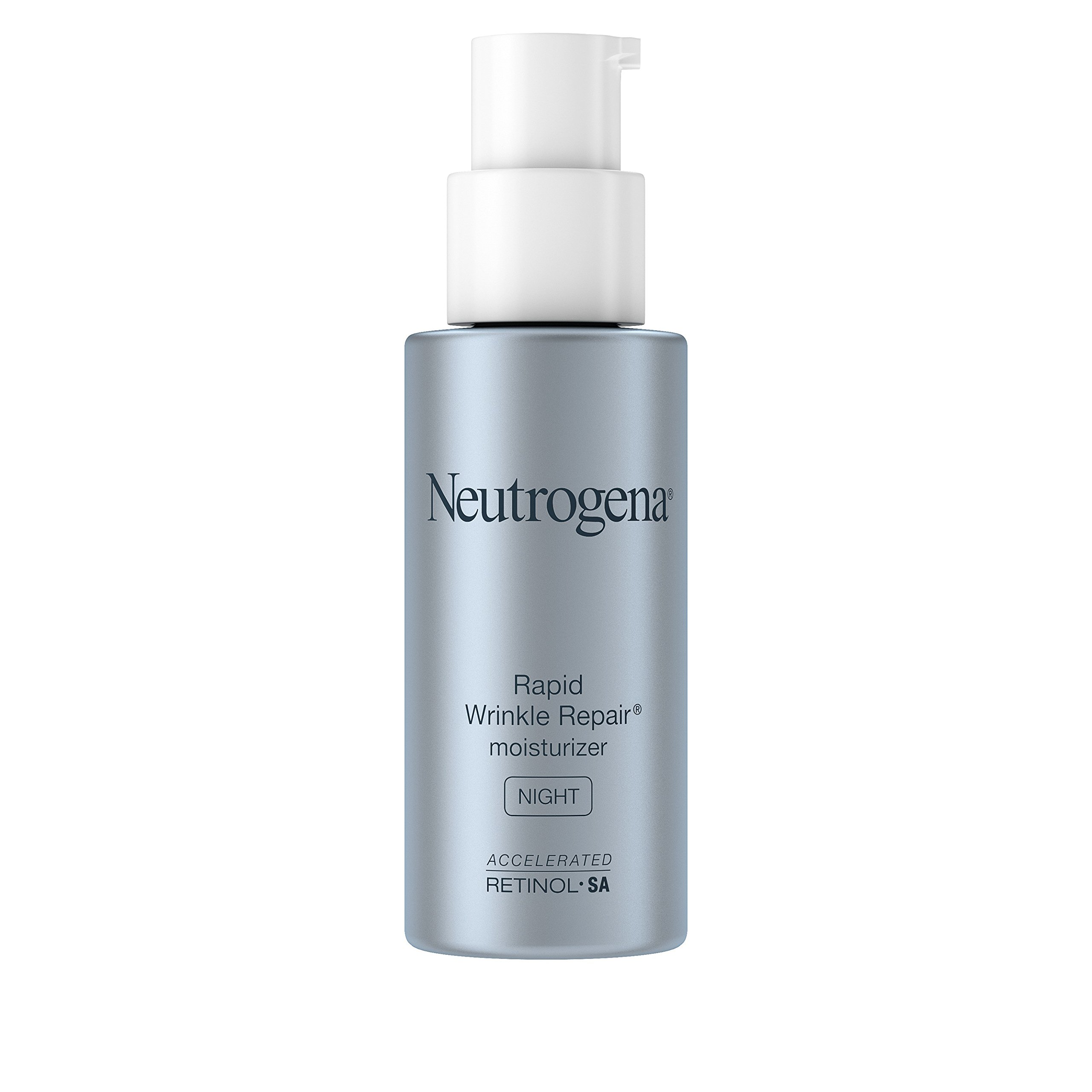 Neutrogena Rapid Wrinkle Repair Anti-Wrinkle Night Accelerated Retinol SA Facial Moisturizer, 1 fl. Oz