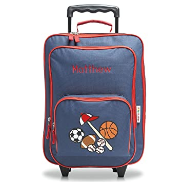 Personalized Rolling Luggage for Kids – All Sports Design 5739c1c043e99