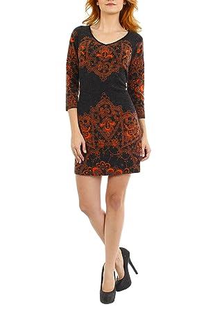 aa8e2e40e35 Aryeh Women s V Neck Sweater Dress at Amazon Women s Clothing store